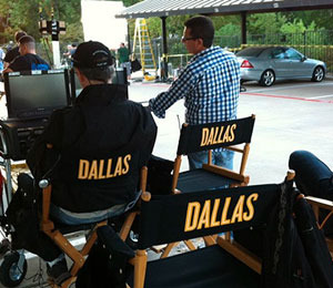 Pics! Day One on the Set of 'Dallas'