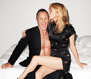 Sting and Trudie Styler Like Their Romance 'Tawdry'