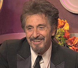 Al Pacino on Globe Win: 'You Get Kind of Nervous'