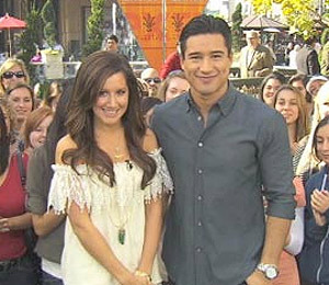 'Extra' Raw! Ashley Tisdale at The Grove