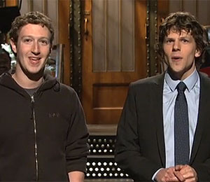Watch Mark Zuckerberg on 'SNL'!