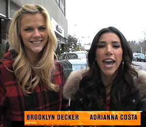'Just Go with It' Star Brooklyn Decker Ropes in 'Extra'