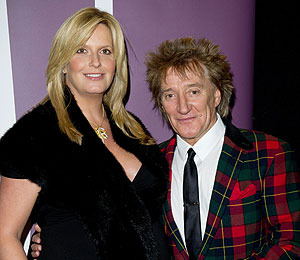 Rod Stewart Is a Father Again