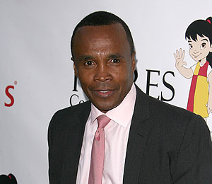 Sugar Ray Leonard Cha-Chas to The Grove