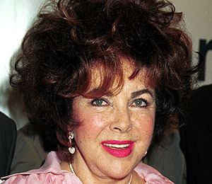 Elizabeth Taylor Fashionably Late to Her Own Funeral