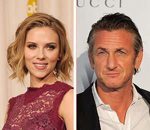 Extra Scoop: Scarlett Johansson and Sean Penn Work Up a Sweat Together