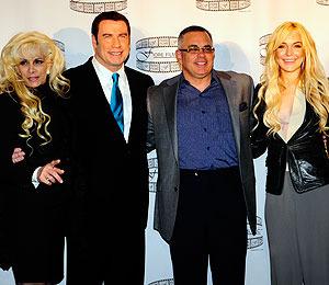 John Travolta -- Lindsay Lohan's New Mob Dad?