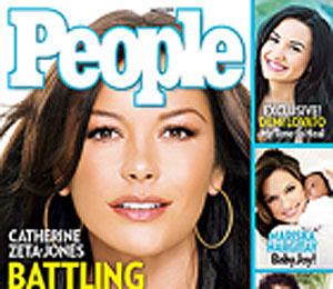 Extra Scoop: Catherine Zeta-Jones: 'There is No Need to Suffer Silently'