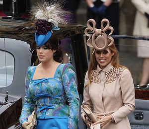 The Royal Guests and Their Hats Arrive to the Wedding