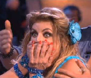 Extra Scoop: 'DWTS': Kirstie Alley, Slimmer Than Ever, Drops S-Bomb!