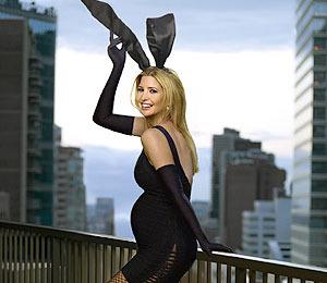 Pregnant Ivanka Trump Poses as Playboy Bunny