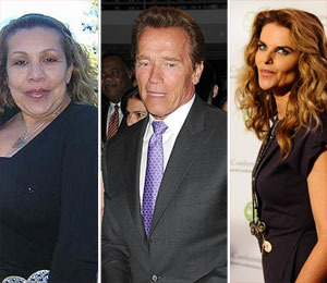 Arnold Schwarzenegger's Mistress Obsessed with Maria Shriver: Report
