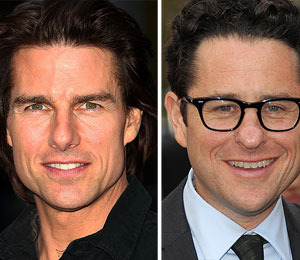 Tom Cruise, JJ Abrams at 'Super 8' Premiere