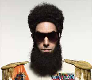 Pic! Sacha Baron Cohen is 'The Dictator'