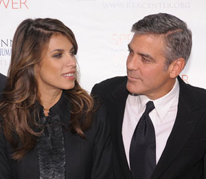 Is the George Clooney and Elisabetta Canalis Split a Cover for Secret Wedding?