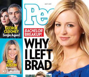 Emily Explains 'Bachelor' Breakup, Brad Blames Himself