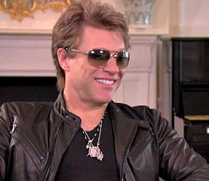 'Extra's' Exclusive Interview with Bon Jovi: Part 2
