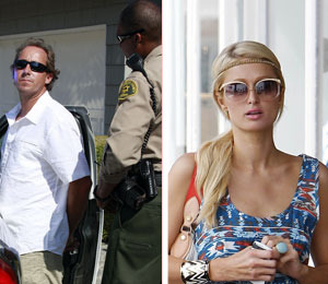 Extra Scoop: Paris Hilton Stalker Arrested Outside Her Malibu Home
