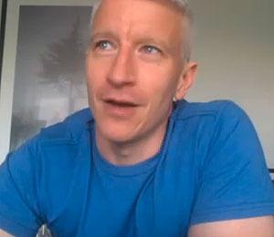 Anderson Cooper Stuck on a Tune