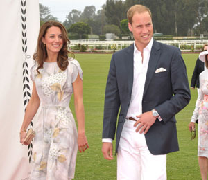 Video! The Royals Go Hollywood