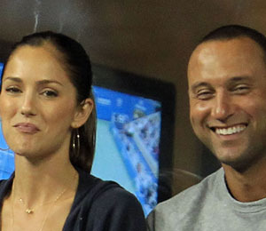 Minka Kelly and Derek Jeter Strike Out