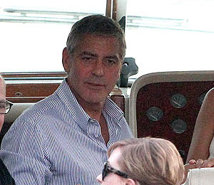 Pics! George Clooney Vacays with Friends on Lake Como