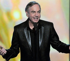 Neil Diamond Gives Diamond Ring to Manager