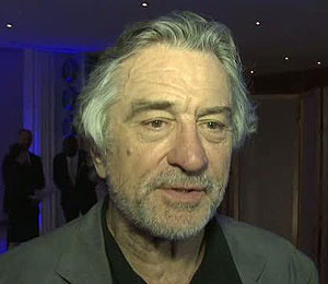 Robert De Niro Endorses New 21st Century Peace Sign