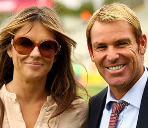 Elizabeth Hurley and Shane Warne Are Engaged