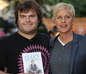 Mystery Guest Surprises Ellen DeGeneres at The Grove