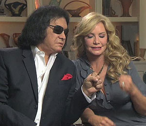Exclusive: Mr. and Mrs. Gene Simmons KISS and Tell