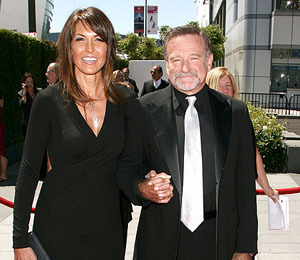 Will third trip to altar be the charm for robin williams for The garden designer robin williams