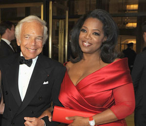 'An Evening with Ralph Lauren' Hosted by Oprah Raises $7M for Cancer