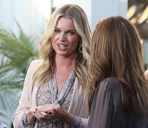 Rebecca Romijn Talks Ghosts and Creepy Kids at The Grove