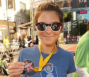 Video! Maria Menounos Runs Rock 'n Roll Marathon for ASPCA