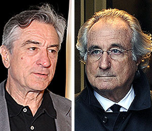 Extra Scoop: Robert De Niro to Star as Bernie Madoff in HBO Biopic