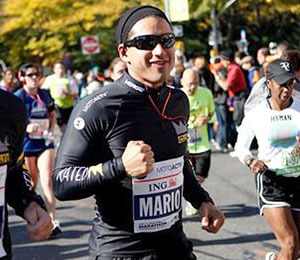 Video Diary! Mario Lopez Runs NYC Marathon
