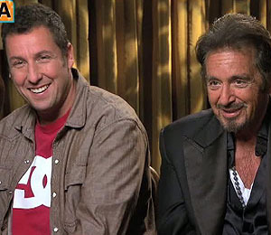 'Extra' Raw! Adam Sandler and Al Pacino on 'Jack and Jill'