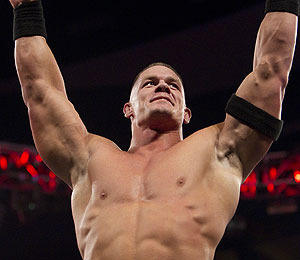 WWE Champ John Cena Survives with The Rock