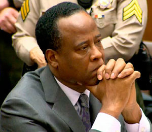Dr. Conrad Murray Sentenced to Four Years