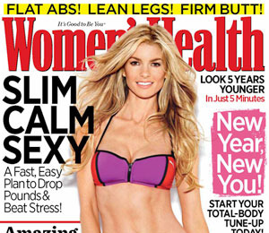 Marisa Miller Shows Off Her Fabulous Abs on Women's Health