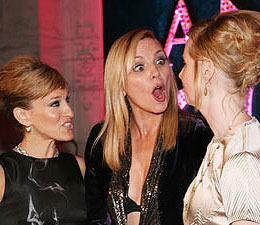 What's Got Kim Cattrall So Excited?