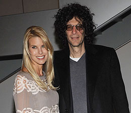 Howard Stern & Beth Ostrosky Tie the Knot