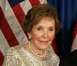 Nancy Reagan Hospitalized