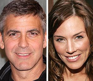 Clooney NOT Dating Krista Allen