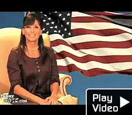 Gina Gershon Spoofs Palin