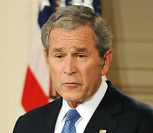 Obama: Skipping Out on Bush's Goodbye?