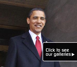 President Obama: Day One!