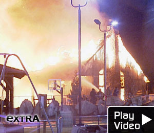 Extreme Makeover: Home Edition -- On Fire!