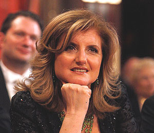 Arianna Huffington Gets Personal